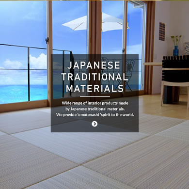 JAPANESE TRADITIONAL MATERIALS