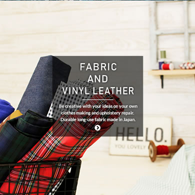 FABRIC AND VINYL LEATHER